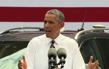 """Obama begs Congress to """"just do something"""" on infrastructure"""