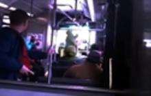 Cleveland RTA bus driver uppercuts passenger
