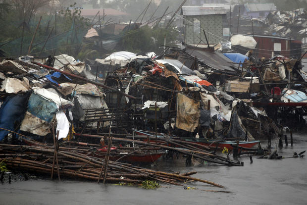 Typhoon zeroes in on the Philippines