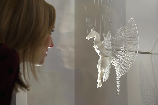 Making art with 3-D printers