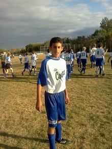 Raul playing soccer in Minnesota