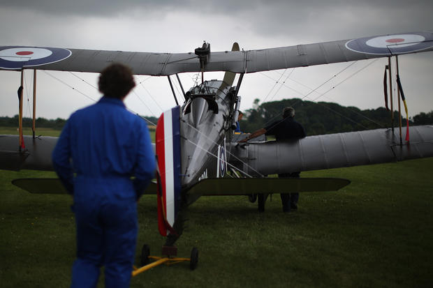 World War I plane collection takes to the air