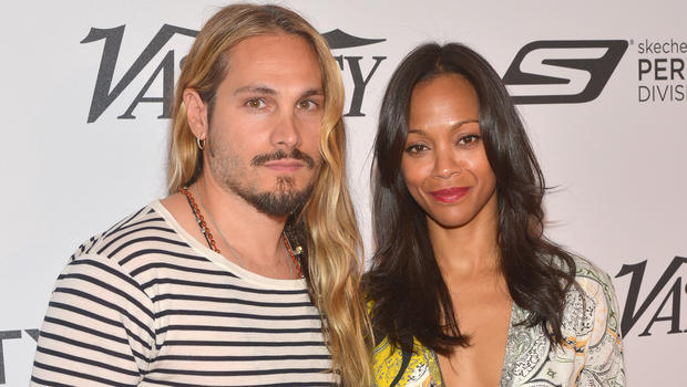 Zoe Saldana's husband insisted on taking her last name ...