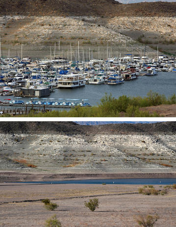 Lake Mead drying up