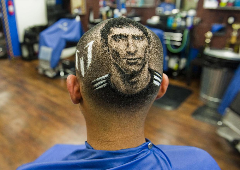 Как сделать рисунок на голове