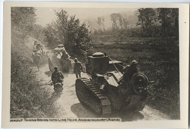 World War I in postcards from the front