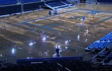 UCLA dries out after being flooded from water main break