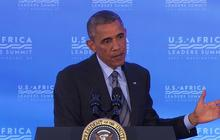 """Gaza cannot be """"permanently closed off from the world,"""" Obama says"""