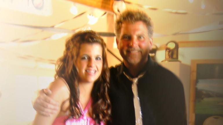 Mackenzie and her dad, Reid Cowell