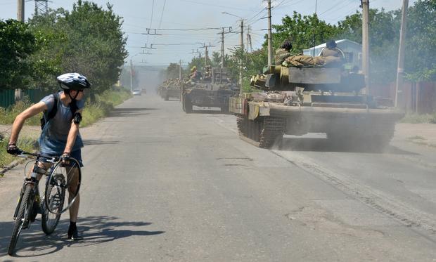 Fighting continues in Ukraine
