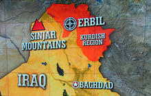 U.S. warplanes strike ISIS targets in Iraq