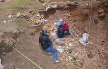 Digging for bones in Wyoming