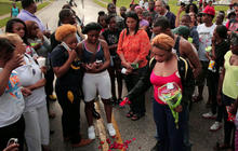 New police shooting amid nights of unrest near St. Louis