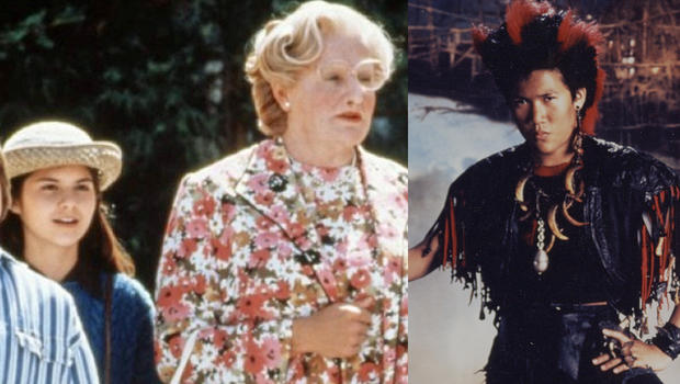 Robin Williams 39 Young Hook Mrs Doubtfire Co Stars Pay Tribute Cbs News