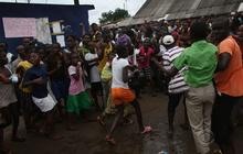 Mob raids Ebola treatment center in Liberia