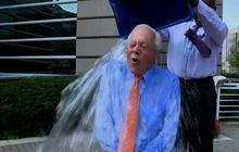 CBS News' Bob Schieffer takes the ice-bucket challenge