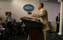 """Obama: """"We don't have a strategy yet"""" on ISIS in Syria"""