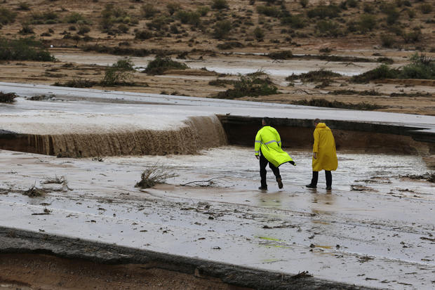 Flooding in the Southwest