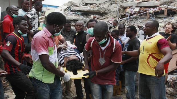 Nigeria Church Building Collapse Nigeria Building Collapse