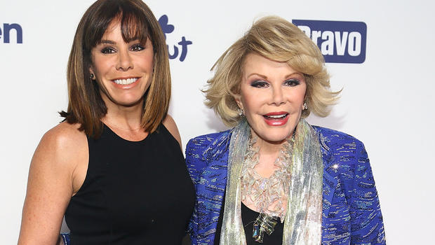 Joan Rivers Fashion Police Tribute Melissa Rivers and Joan Rivers
