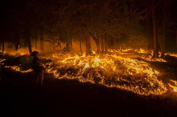 California wildfires spread