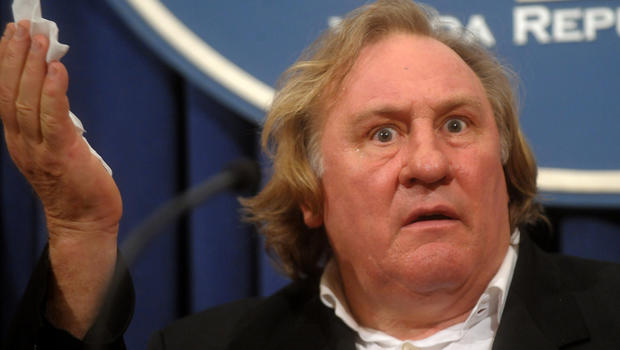 Gerard Depardieu says ...