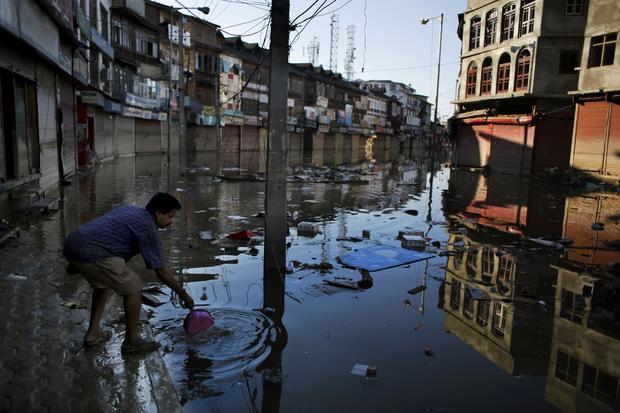 Flood of the century submerges India, Pakistan