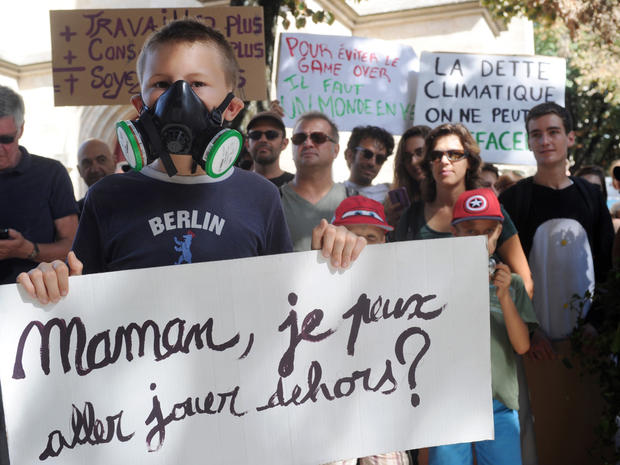 Marches around the world for climate action