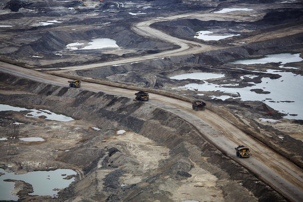 Oil boom in the Canadian sand