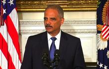 "Eric Holder: ""Mixed emotions"" about resigning as attorney general"