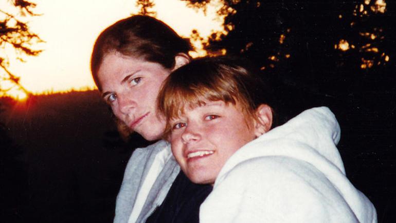 Julie Correa, left, and Kristen