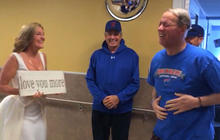 Hall of Fame quarterback Jim Kelly on surviving cancer