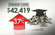 Six figures still isn't enough to pay for college