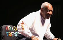 Bill Cosby performs to standing ovation despite rape allegations