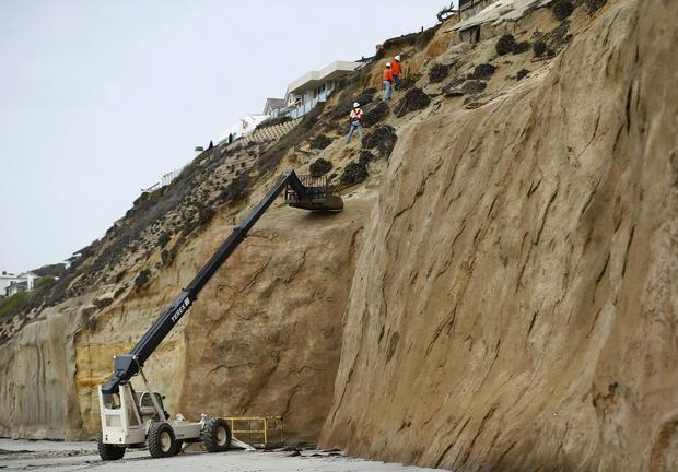 Heavy rain brings flooding, landslides to California