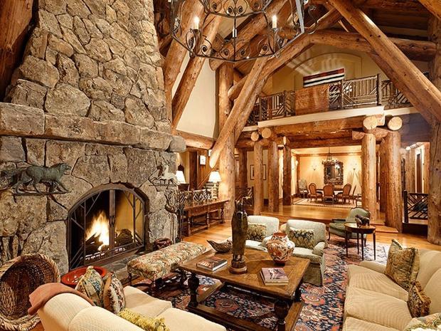 10 luxurious log cabins on the market - CBS News