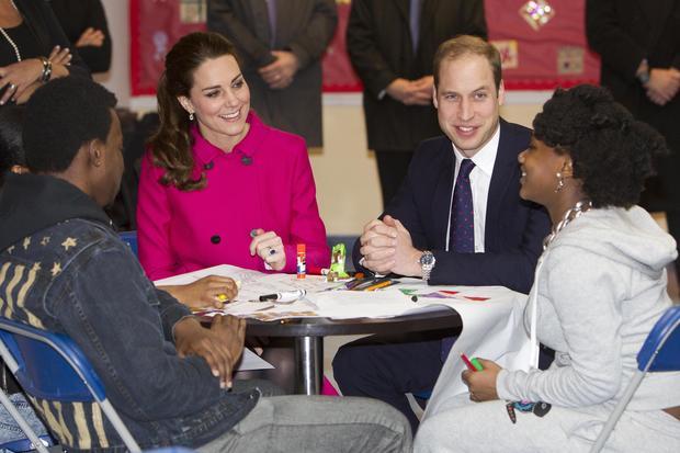 Royal visit's final day