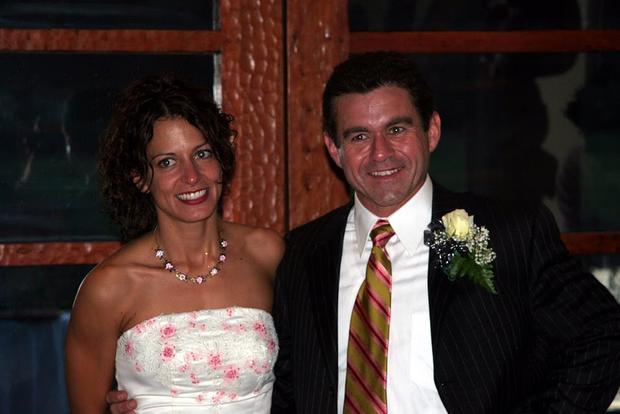 雷切尔和托德温克勒的婚礼照