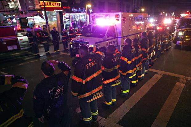 NY police officers killed