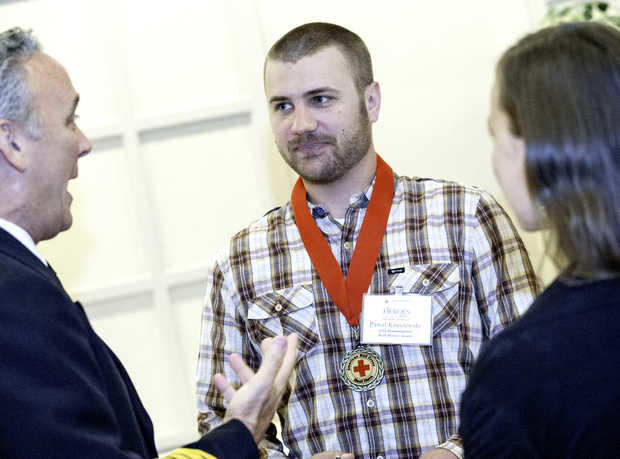 Heroes honored with Carnegie Medals
