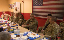 Tough questions from U.S. troops in Afghanistan