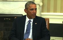 """Obama condemns """"cowardly, evil"""" attack on French newspaper"""
