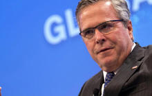 Why is Jeb Bush going to Utah?