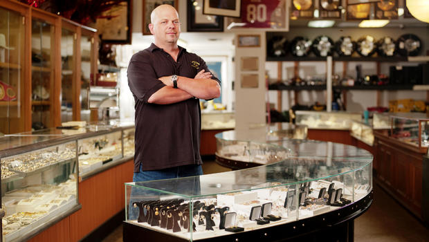rick harrison how much longer i plan to do pawn stars cbs news. Black Bedroom Furniture Sets. Home Design Ideas