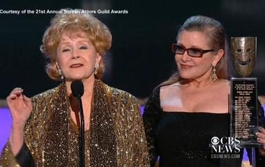 Debbie Reynolds wins SAG Life Achievement Award