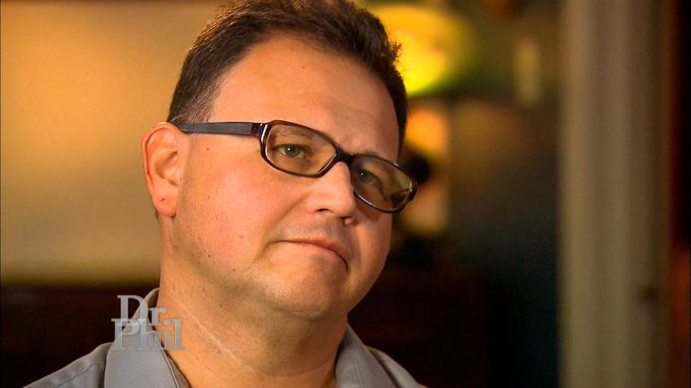 """Mark Castellano during his interview on """"Dr. Phil"""