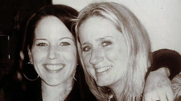 米歇尔华纳和她的母亲唐娜马龙