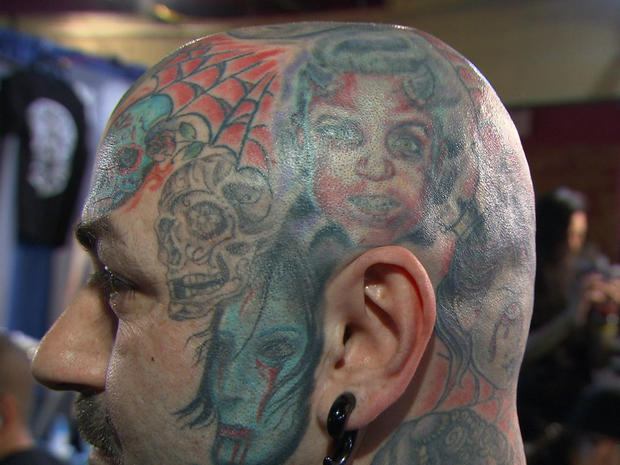 Lyle tuttle at the tattoo parlour pictures cbs news for The parlour tattoo