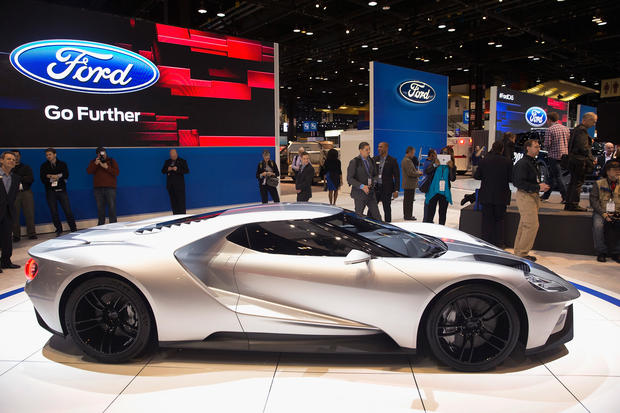 2016 ford gt the best of the chicago auto show 2015 pictures cbs news - 2015 Ford Gt Auto Show