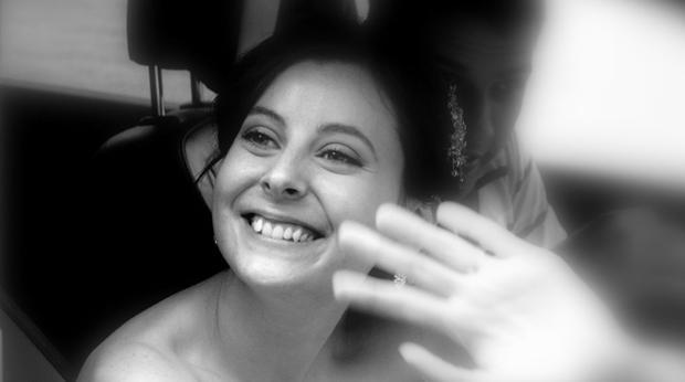 Bethany Deaton在她的婚礼当天